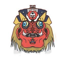 Icon- RED MONKEY by ShadowDreamer1