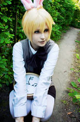 Vocaloid cosplay // Alice in Musicland, Len by DAIxSORA