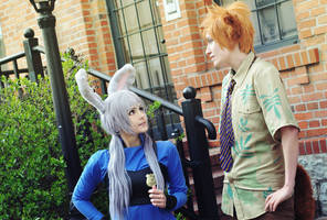 Zootopia Cosplay // Judy and Nick by DAIxSORA