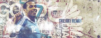 Thierry Henry by kedzoj