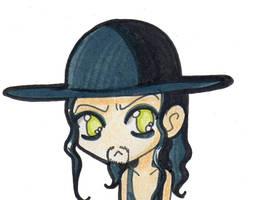 undertaker chibi :D by PrincessBlackRabbit