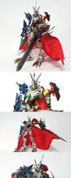 Digimon Omegamon X Figure Picture Collection by Dudemon