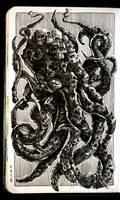Sketchbook | Skulltopus by CinnamonDevil