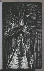Sketchbook | Forest Goat by CinnamonDevil