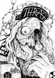 Commission | Thrash Metal by CinnamonDevil