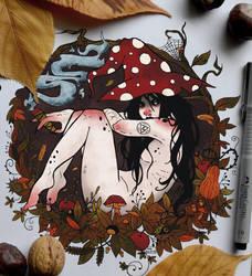 Liz   Mabon by CinnamonDevil