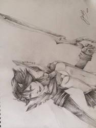 Ryuko Matoi and Senketsu by jadza54
