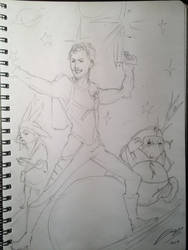 Dandy of the Galaxy by jadza54