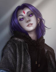 Casual Raven by Dzydar