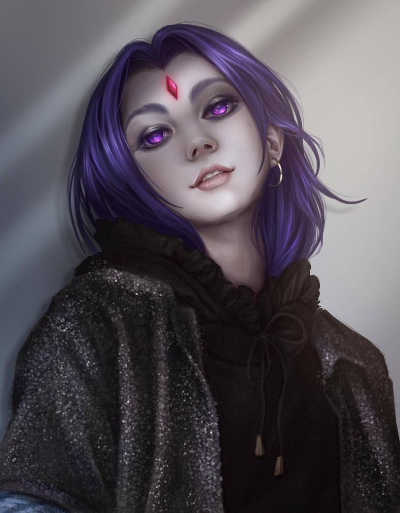 Casual Raven by Dzydar