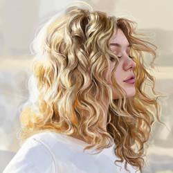 Sunshine (drawing) by Dzydar