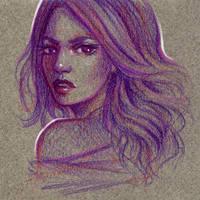 Violet by Dzydar