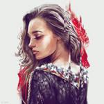 Queen of Diamonds by Dzydar