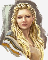 Lagertha sketch by Dzydar