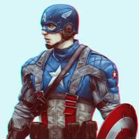 Captain America by Dzydar