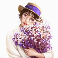 Flowers by Dzydar