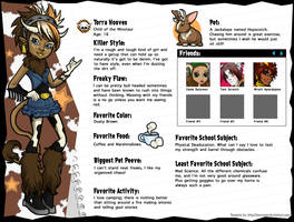 Monster High OC: Torra Hooves by EvilFuzz