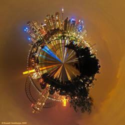 Sydney Polar Panorama by datazoid