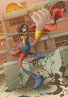 Ms. Marvel: Kamala Khan by lucianosalles