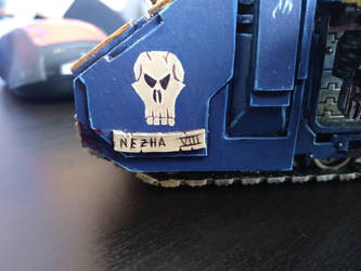 Predator name plate by darkageis