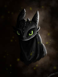 Toothless by Dracarian