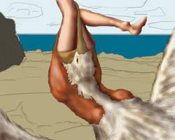 Pelican vore 4 by RedIcicle