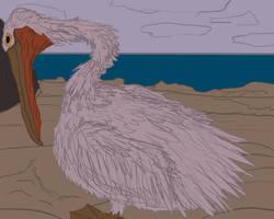 Pelican vore 6 by RedIcicle