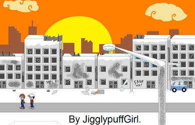 Iceflow - Ruined Ice City by JigglyPuffGirl