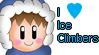 I love Ice Climbers Stamp by JigglyPuffGirl