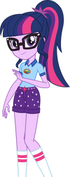 Legend of Everfree: Camper Twilight Sparkle by ImperfectXIII