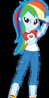Legend of Everfree: Camper Rainbow Dash by ImperfectXIII