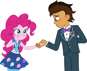 EqG: Copper and Pinkie - May I have this dance? by ImperfectXIII