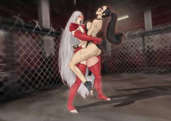 Aria V Matsuda by KillerMoon