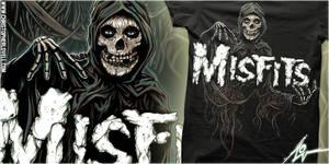 MISFITS - MYSTIC FIEND - CHRISTOPHER LOVELL ART by Lovell-Art