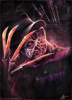 Freddy Krueger - Christopher Lovell Art by Lovell-Art