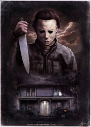 Michael Myers - Halloween by Christopher Lovell by Lovell-Art