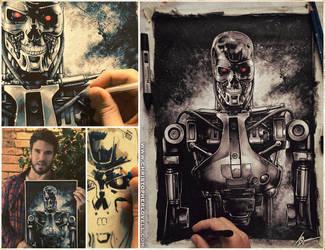 Terminator T-800 by Lovell-Art