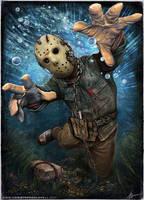 Jason Lives! by Christopher Lovell by Lovell-Art