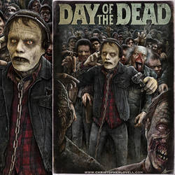Day Of The Dead by Lovell-Art