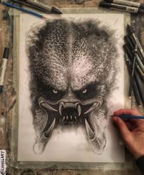 Predator WIP by Lovell-Art