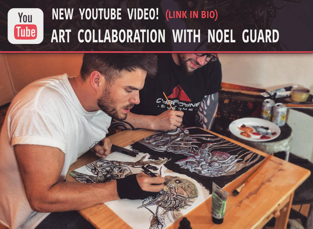 NEW ART COLLABORATION VIDEO! by Lovell-Art