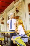 Toushiro and Rangiku - What are u doing here by recchinon