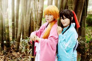 Kenshin x Kaoru -  us by recchinon