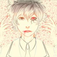 Sketch Tokyo Ghoul: Re-Sasaki Haise/Kaneki Ken by PlasmicMeerkat