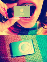 Ipod shuffle II by marjorieba
