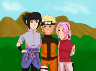 [N:S] Team 7 by FairyTailForever123