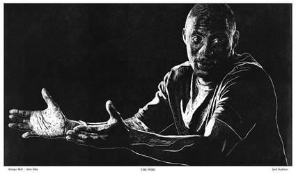 Stringer Bell/Idris Elba [The Wire] by JackSephton