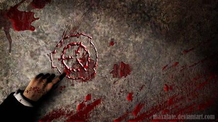 SCP-LOGO : THE BLOOD by maxalate
