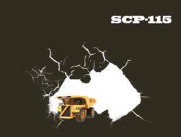 SCP-115 Miniature Dump Truck by maxalate