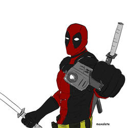 DEADPOOL by maxalate